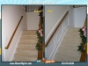 Wainscoting on Stairwell