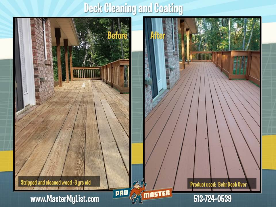 Cincinnati Deck Repair Amp Deck Restoration