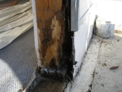 Door Frame Wood Rot