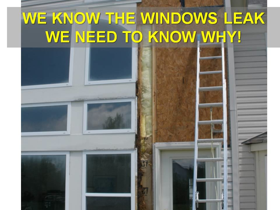 Window leak repair company
