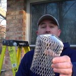 Home Maintenance Item 1 - Gutter Downspout Screen