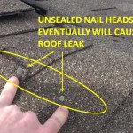 Cause of Roof Leaks