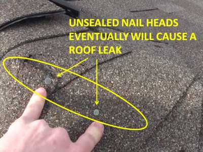 Roof Leak Causes roof leak & roof leak detection: how to find a roof leak