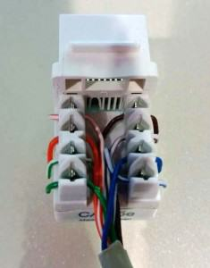 Home network ethernet jack