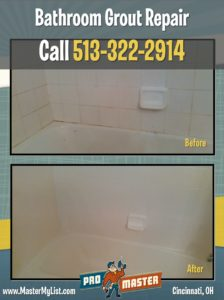 Grout Repair In Bathroom